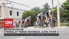 VIDEO: Pembalap Timnas Indonesia Juara Etape II