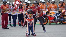 Marquez Menang di Valencia, Honda Treble di MotoGP 2019