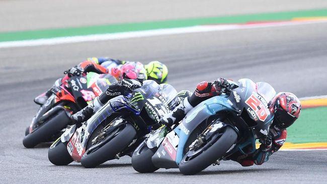 MotoGP 2020 kembali berlanjut akhir pekan ini di MotoGP Aragon. Berikut jadwal live streaming MotoGP Aragon 2020.