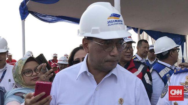 Menhub Budi Karya mengaku banyak pembangunan infrastruktur yang terkait dengan konektivitas yang belum selesai digarap, misalnya LRT dan bandara.