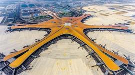 Luas Bandara Baru di China Setara 97 Lapangan Bola