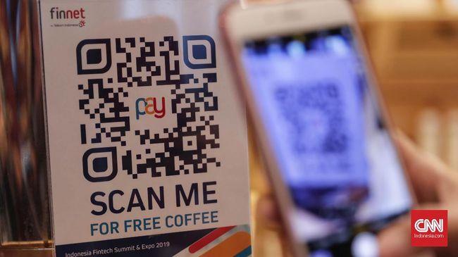 layanan fintech baik dari segi sistem pembayaran maupun layanan keuangan lain mampu mengisi kekosongan yang tidak bisa diisi perbankan. CNNIndonesia/Safir Makki