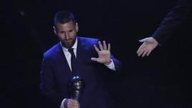 Bocoran Ballon d'Or 2019: Messi Juara, Ronaldo Urutan Keempat