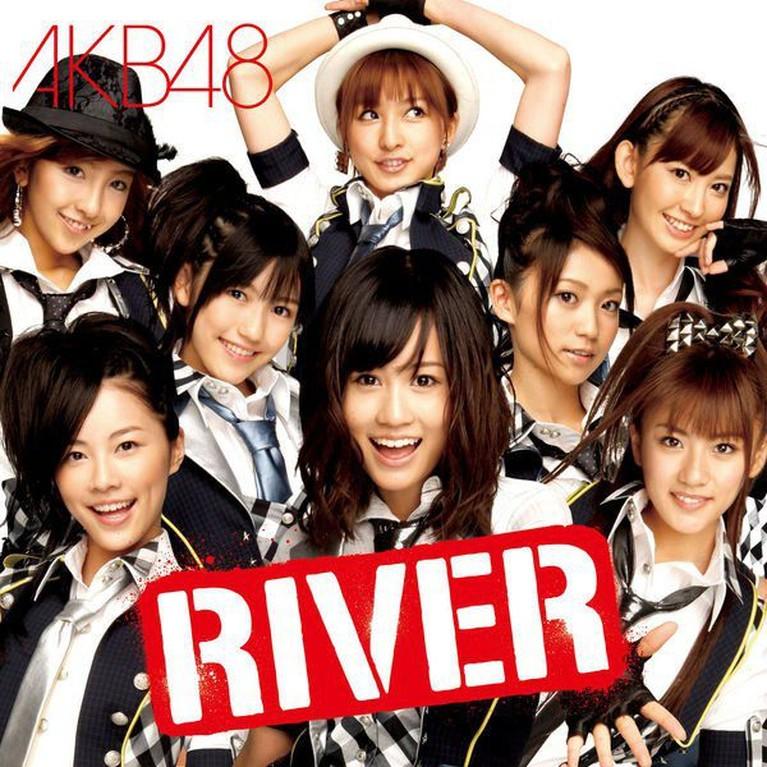Lagu ke-15 yang berjudul 'RIVER' milik AKB48 ini juga menjadi pilihan terbaik banyak penggemar. Seifuku RIVER memliki model rok yang berpotongan miring dengan pola corak kotak-kotak sehingga mempertegas bentuk tubuh para personelnya.