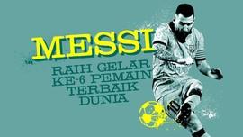 INFOGRAFIS: Messi Masih yang Terbaik di Dunia