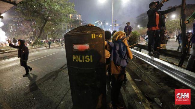 Kapolres Perintahkan Tangkap Demonstran yang Ngotot Aksi
