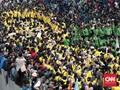 Mahasiswa Unindra Diduga Dianiaya Polisi saat Demo di DPR