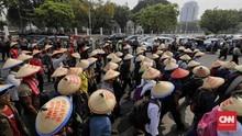Kecam Penggusuran, Ratusan Petani Sumut Akan Kemah di Istana