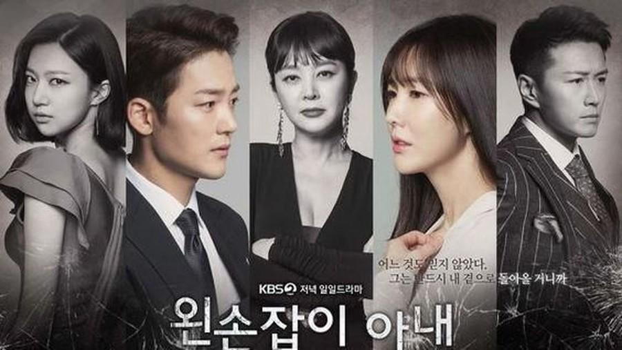 Drama Korea Left-Handed Wife Eps.10, Rencana Ae Ra Singkirkan Nam Joon