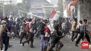 #STMMelawan Warnai Jagat Twitter Saat Demo Pelajar di DPR