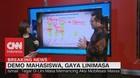 VIDEO: Demo Mahasiswa, Gaya Linimasa