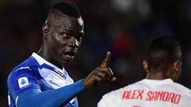 Mangkir Latihan, Balotelli Terancam Dipecat Brescia