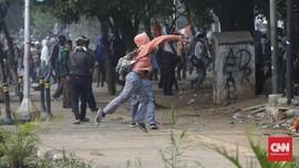 Ricuh, Polisi Amankan Ratusan Pelajar STM di Bekasi