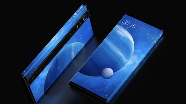 Xiaomi Luncurkan Ponsel Layar Penuh Mi Mix Alpha