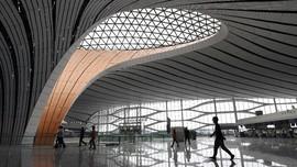 FOTO: Rupa Bandara 'Bintang Laut' di China