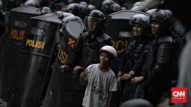 Kapolres Jakarta Pusat Perintahkan Tangkap Pelaku Demo