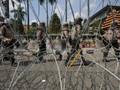 Polisi Tangkap 16 Relawan Medis Demo Omnibus Law di Surabaya