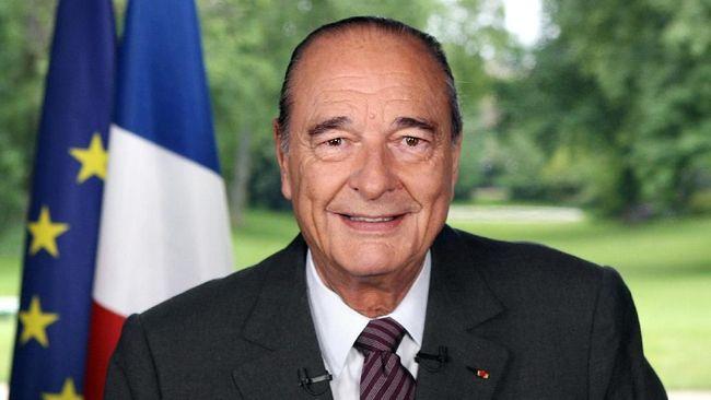 Mantan Presiden Prancis Jacques Chirac tutup usia, Kamis. Jacques Chirac yang memimpin Prancis dari 1995 hingga 2007 itu meninggal dunia di usia 86 tahun.