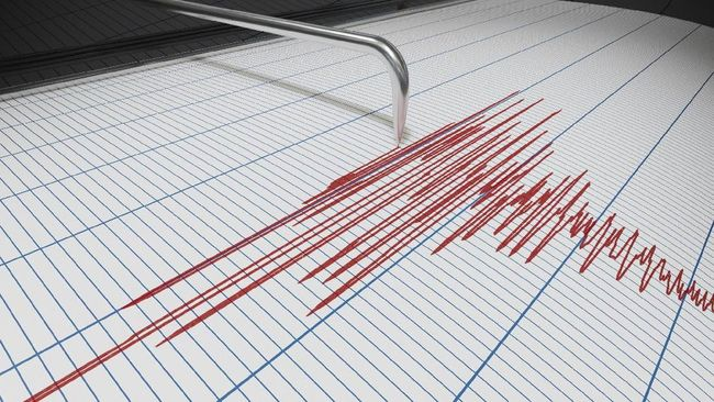 Gempa bumi dengan Magnitudo 5 mengguncang Maluku Tengah, pada Sabtu (20/3) pukul 15.26 WIT.