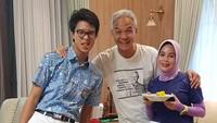 <p>Ayah satu anak ini, baru saja merayakan ulang tahun pernikahan yang ke-20 bersama Siti Atiqah Apriyanti. (Foto: Instagram @ganjar_pranowo)</p>