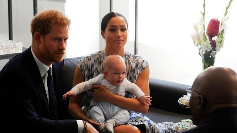 Archie yang berusia empat bulan sangat menikmati debut Royal Tournya ini ya Insertizen.