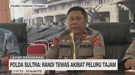 VIDEO - Polda Sultra: Randi Tewas Akibat Peluru Tajam