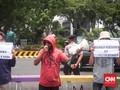 Massa di Depan Istana Teriak Rezim Jokowi Antidemokrasi