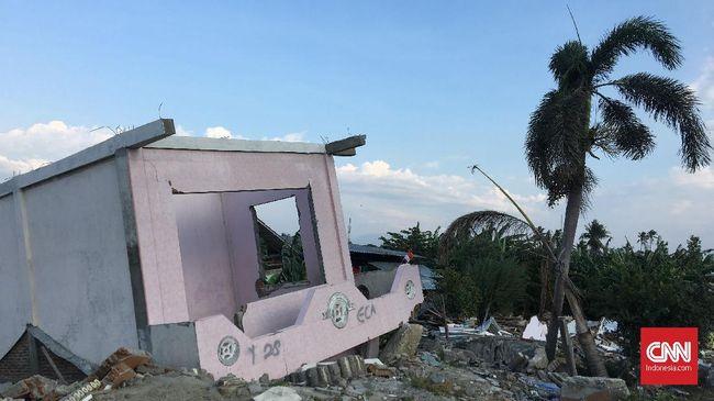 Bantuan korban gempa Sulawesi tengah dibagikan untuk empat daerah: Kota Palu, Kabupaten Sigi, Donggala, dan Parigi Moutong.