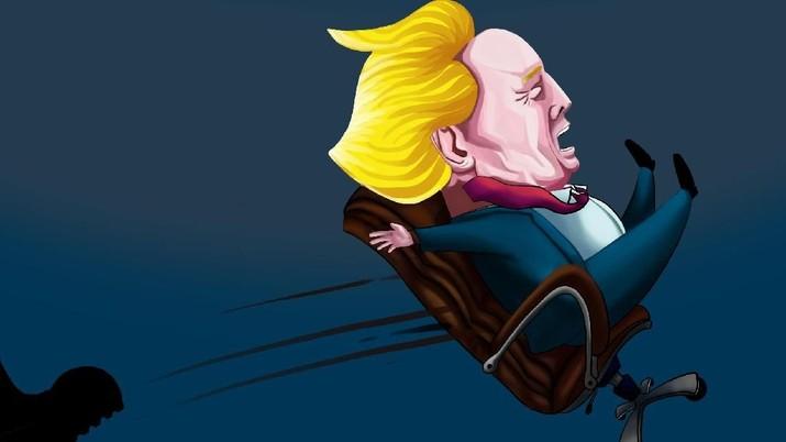 Masyarakat AS Dukung Trump Lengser? - PT Rifan FInancindo