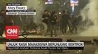 VIDEO: Unjuk Rasa Mahasiswa di Makassar Berujung Bentrok