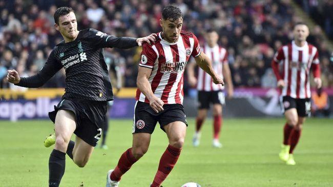 Liverpool patut waspada dengan ancaman dari Sheffield United jelang pertemuan kedua tim di Stadion Anfield, Jumat (3/12) dini hari WIB.