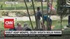 VIDEO: Kabut Asap Menipis, Objek Wisata Pekanbaru Mulai Ramai