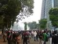 VIDEO: Gas Air Mata Ditembakkan, Massa Demo DPR Kocar-kacir