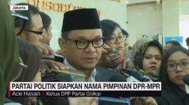 VIDEO: Partai Politik Siapkan Nama Pimpinan DPR-MPR