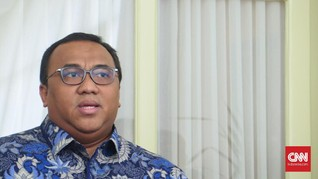 Presiden Buruh Andi Gani ke Istana di Tengah Isu Reshuffle