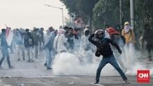 Demo Mahasiswa Polman Ricuh Tersulut Kata 'Bodoh' Bupati