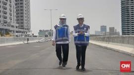 Menteri Rini: Oktober, Uji Beban Tol Layang Jakarta-Cikampek