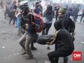 Demo di DPRD Jabar Ricuh, Gas Air Mata Dilepaskan