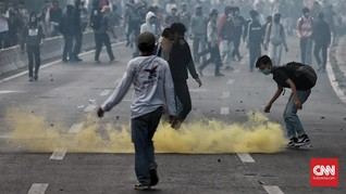 Garda dan Sopir Ojol Inisiatif Bantu Evakuasi Korban Demo DPR