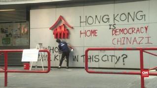 Hong Kong Bekukan Dana Rp125 M untuk Demonstran