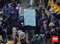 Mahasiswa Baubau Diduga Tertembak saat Aksi Tolak UU Ciptaker