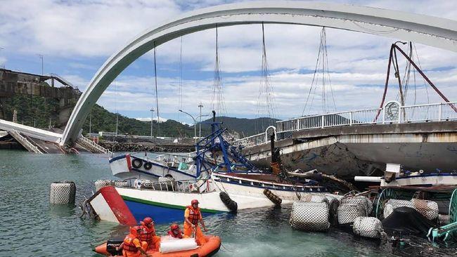 Tiga WNI Jadi Korban Jembatan Ambruk di Taiwan