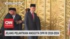 VIDEO: Presiden Tiba di Gedung DPR RI Jelang Pelantikan DPR