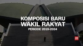 VIDEO: Komposisi Baru Wakil Rakyat 2019-2024