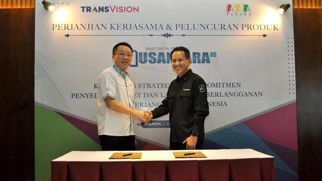 Transvision menawarkan Nusantara HD, paket hiburan digital dengan harga terjangkau untuk seluruh masyarakat di pelosok.