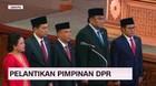 VIDEO: Pelantikan Pimpinan DPR