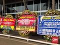 Haji Lulung Anggota DPR, Karangan Bunga Berderet di Senayan