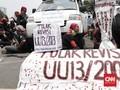 Demo Bubar, Buruh Ancam Kembali Aksi Usai Pelantikan Jokowi