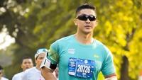 Di samping profesinya sebagai prajurit, Dhuha juga hobi berolahraga, beberapa kali mengikuti lomba lari maraton. (Foto: Instagram @dhu_yuand)