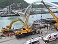 Empat Jasad Korban Jembatan Ambruk di Taiwan Ditemukan